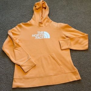 Orange The North Face Hoodie